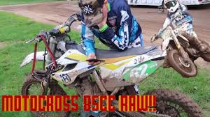 motocross dirt bike 85cc 2 stroke raw motocross dirt bike in mud youtube