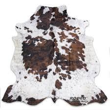 amazon com tricolor rodeo cowhide rug large size 5x7 150cm x210cm