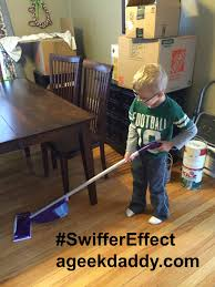 Swiffer Safe For Laminate Floors A Geek Daddy Dads Who Do Chores Bolster Daughters U0027 Aspirations