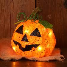 light up pumpkins for halloween lighted halloween decorations halloween spider web tree lumiparty
