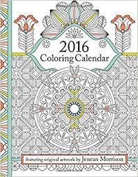 amazon 2016 coloring calendar coloring calendar