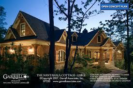 nantahala cottage gable house plan house plans by garrell