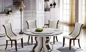 Isingteccom KOK Usa T  Inch Marble Table - 60 inch round dining table with lazy susan