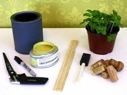 how to turn paint cans into plant pots how tos diy