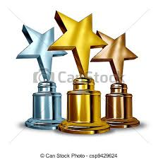 Muito Estrela, distinção, troféus. Troféu, perscruta, estrela, sucesso  &AX39