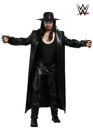 Mens Cowboy Halloween Costume Wwe Undertaker Costume Men