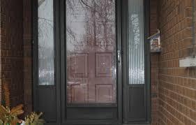 Exterior Utility Doors Front Door Replacement In Oakville By Exterior Transformations