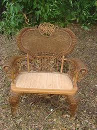 heywood wakefield vintage wicker furniture osetacouleur