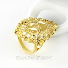 new gold rings images Kayshine new gold color flower ring hot sale bijoux women aulic jpg