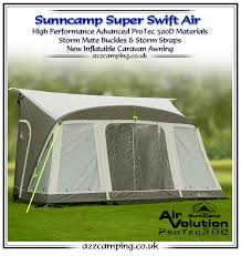 Sunncamp 390 Porch Awning 2016 Sunncamp Inflatable Awning Preview