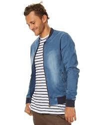 academy brand montana mens er jacket washed blue