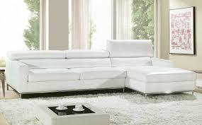 salon haut de gamme canapé angle en cuir vachette blanc canapé gamme canapé d u0027angle
