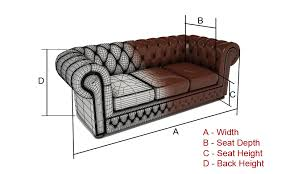 sofa depth sofa specifications b o r n