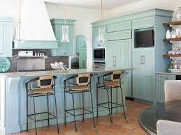 Best Kitchens That Inspire Images On Pinterest Appliances - Turquoise kitchen cabinets