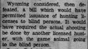 Legally Blind Definition Hunting Licenses For The Blind