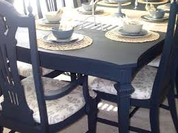 Paint Dining Room Table Amusing Idea Distressed Dining Tables - Painting a dining room table