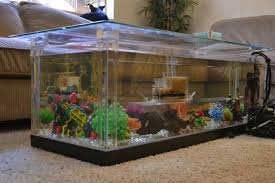 coffee tables appealing square coffee table aquarium with puple