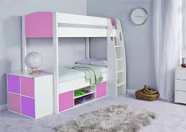 bunk beds girls stompa unos detachable storage bunk bed frame and underbed storage