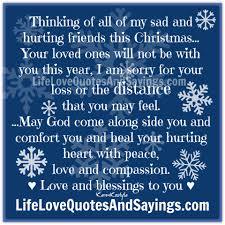 beautiful christmas quotes and sayings thinking of all of my sad