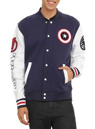 captain america spirit halloween marvel captain america varsity jacket topic