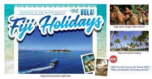 natas holidays 2017 fiji tours travel packages