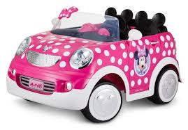 disney minnie mouse rod coupe 12 volt ride on toys r us