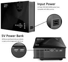 unic uc46 mini wifi portable led projector with miracast dlna