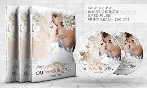 15 beautiful wedding cd dvd cover templates u2013 design freebies