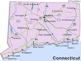 connecticut on map connecticut travel guide planetware