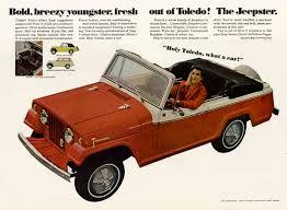1967 jeep commando 1967 jeepster u0026 danny thomas vintage ad of the week