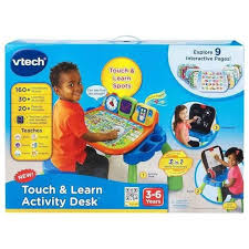 vtech write and learn desk buy vtech create discover learning desk online at toy universe