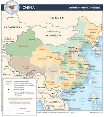 Map Of China And India by China U2014 Central Intelligence Agency