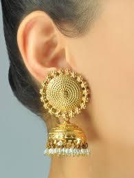 buy jhumka earrings online buy sooryan jhumka earrings online indian jewelry gold