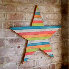 Home Decor Star by Barn Star Wood Wall Art Pallet Star Large Wooden Barnstar Wall