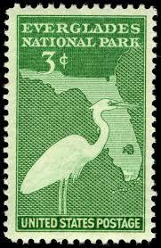 Everglades National Park Map File Everglades National Park 3c 1947 Issue U S Stamp Jpg