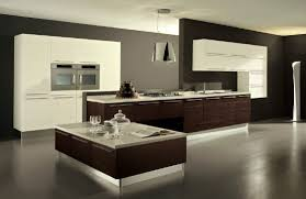 Contemporary Kitchen Design by Contemporary Kitchen Design White Painted Wall Mounted Cabinet