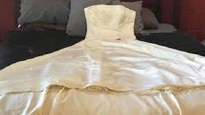Wedding Dress Man Man Sells Ex Wife U0027s Wedding Dress For Beer Fishing Rod On Facebook