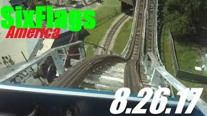 Six Flags Md Hours Six Flags America Vlog 8 26 17 Youtube
