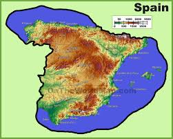 Spain Map Spain Maps Maps Of Spain