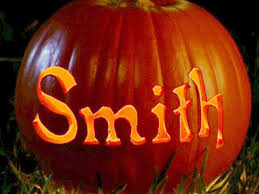 pumpkin decoration images using a pumpkin carving template hgtv