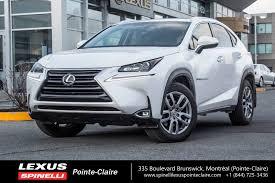 winter tires lexus nx used 2017 lexus nx 200t premium for sale in montreal demo 17l042