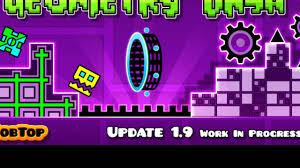 geometry dash full version new update geometry dash 1 9 update info youtube
