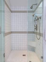 bathroom tile small shower best popular flooring astonishing black