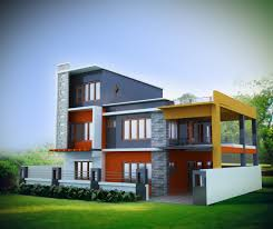 elegant 3d house design architecture nice