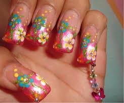 mis uñas con dije de mariposa nail art archive style nails