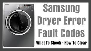 check vent light on dryer dryer error codes what to check how to clear