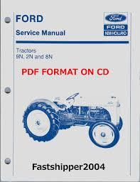ford tractors 9n 2n 8n shop service repair manual cd 9 n 2 n 8