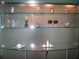 home bar shelves fort lauderdale custom glass floating shelves giant glass and mirror