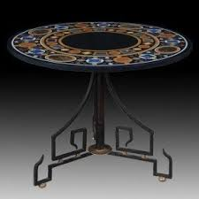 Marble Coffee Table Top Round Stone Top Coffee Table Foter