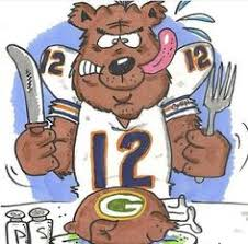 green bay makes a thanksgiving dinner chicago bears